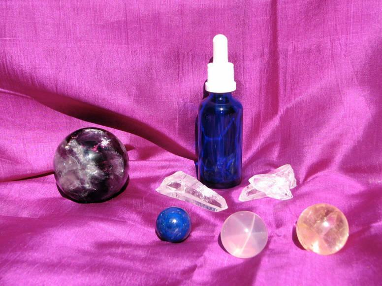 Gouttes de la Terre - Elixirs de pierre pour humains